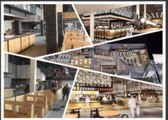 De werkzaamheden zijn momenteel in volle gang bij de Foodcourt Jaarbeurs Utrecht !
