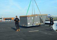 Luchtbehandelingskast voor Woonboulevard Sierenborch te Amsterdam Sloterdijk