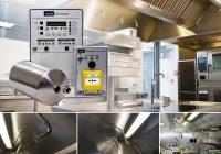 Nobel keukenbrand blussystemen worden direct door Pels RVS ingebouwd in de afzuigkappen!